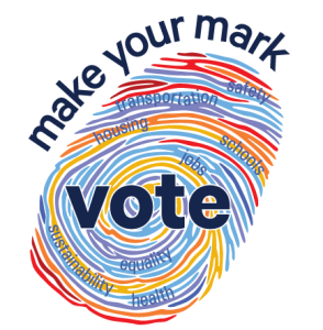 Make your mark.  Vote.  From the NYC Votes/the New York City Campaign Finance Board.